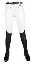 CAVALLINO MARINO SILVER STREAM CRYSTAL HIGH WAISTED BREECHES - WHITE RRP £114.95